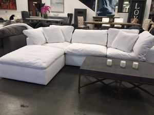 100% AUTHENTIC CLOUD Modular Sectional Sofa Couch - Staging Furniture - $3900 for Sale in Beverly Hills, CA