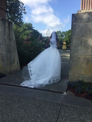 Beautiful designer WEDDING dress for Sale in Royse City, TX