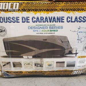 ADCO Travel Trailer Designer Series RV Cover Gray for Sale in Grand Prairie, TX