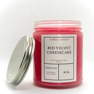 Red Velvet Cheesecake Candle / Red Velvet Cake / Soy Candle 8oz for Sale in Raleigh, NC