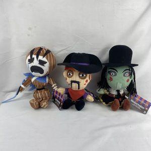Set All 3 Showdown Bandit Plush Dolls Grieves Miss Undertaker Bandit Phatmojo for Sale in Peoria, IL