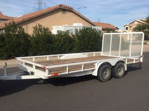 8 x 16 dual axle heavy duty car hauler for Sale in Mesa, AZ