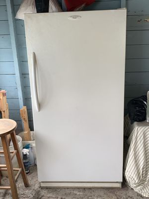 Frigidaire stand up freezer for Sale in Milo, ME