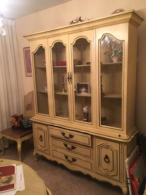 Dining Set — China Cabinet, Table, 5 Chairs for Sale in Pittsburgh, PA