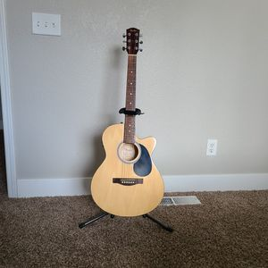 fender acoustic electric for Sale in Modesto, CA