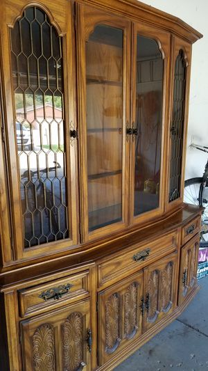 China Hutch and Buffet Combo- American Drew, Serenada Collection for Sale in Bull Valley, IL