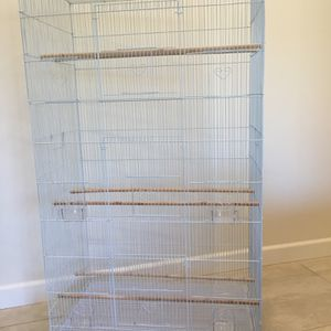 Tall/ Large Flight Bird Cage with Stand on Wheels BRAND NEW for Sale in Los Angeles, CA
