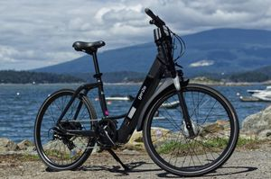 GENZE E222 STEP-THRU MATTE BLACK ELECTRIC BIKE ELECTRIC BICYCLE ELECTRIC MOTORCYCLE ELECTRIC SCOOTER 350 WATTS for Sale in Sunny Isles Beach, FL