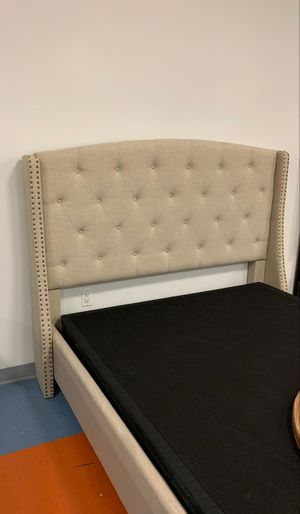 Brand New SPECIAL Upholstered Queen Size Bed Frame Only. for Sale in Jessup, MD