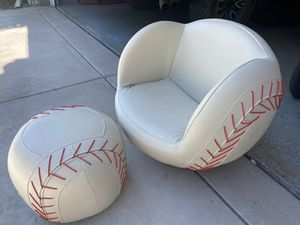 Kids Baseball Chair for Sale in Escondido, CA