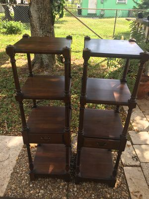 I sell two furniture are antique and wooden for Sale in Lake Worth, FL