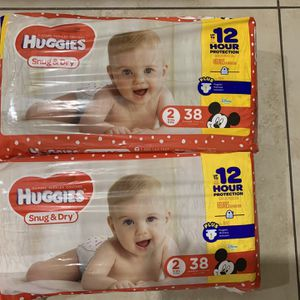 Huggies Diapers Size 2, 2 for $14 for Sale in Las Vegas, NV