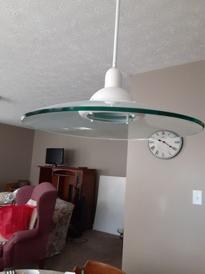 Hanging light fixture for Sale in Brecksville, OH