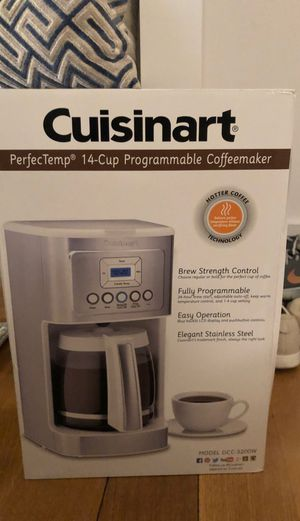 BRAND NEW Cuisinart perfecttemp 14 cup programmable coffeemaker for Sale in New York, NY