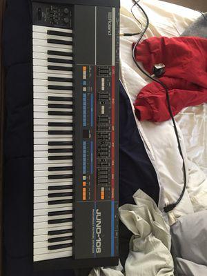 Roland Juno 106 synthesizer excellent condition for Sale in Atlanta, GA