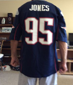 Patriots NFL Jersey, Large Size, Like Brand New, Jones # 95 for Sale in Pinellas Park, FL