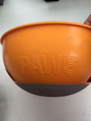 Paw 5 dog dish. Designed to help dogs eat slower for Sale in Exeter, RI