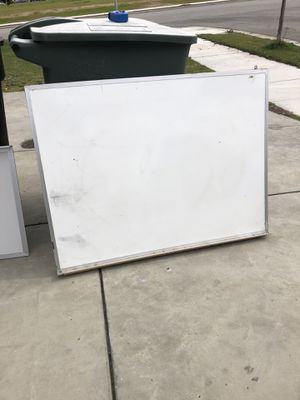 Whiteboard 48x32 inches for Sale in Sanger, CA