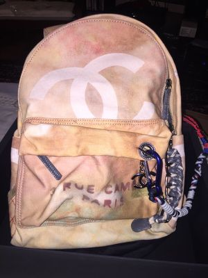 Chanel Backpack runway graffiti for Sale in New York, NY