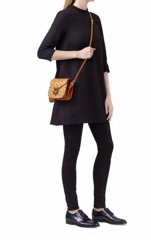 MCM Patricia Visetos Mini shoulder bag purse crossbody Cognac $769 for Sale in Garden Grove, CA