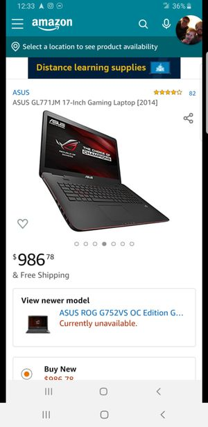 Gaming labtop for Sale in Columbus, OH