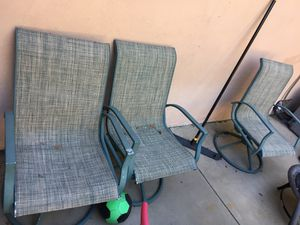 4 outdoor chairs, take as is. Free for Sale in Yorba Linda, CA