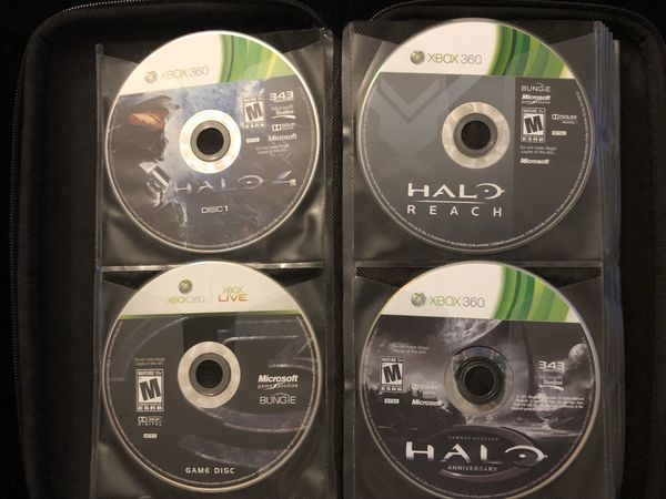 Xbox 360 Lot of 22 Games(Discs ONLY)Halo Dead Space Mass Effect Witcher C.O.D(Post Nintendo era)