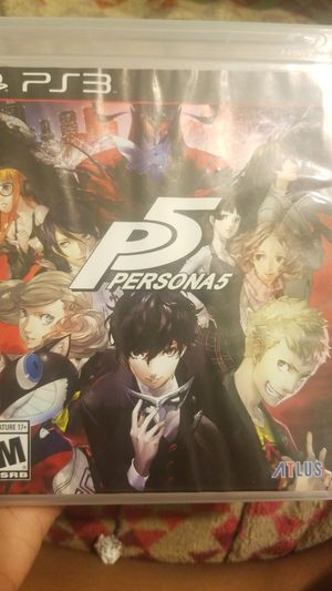 PS3 Persona 5 for Sale in Norcross, GA