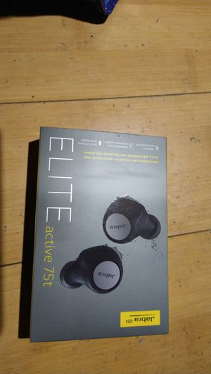 Brand New Jabra elite active 75t wireless waterproof 8 inBluetooth earbuds headphones for Sale in Oakland, CA