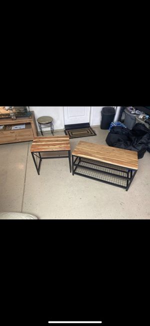 TV Stand and Side Table for Sale in Ontario, CA