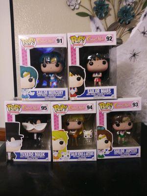 Sailor moon funko pops for Sale in Bellflower, CA