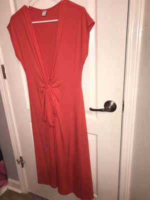 Brand new Old Navy red tie side dress for Sale in Slidell, LA