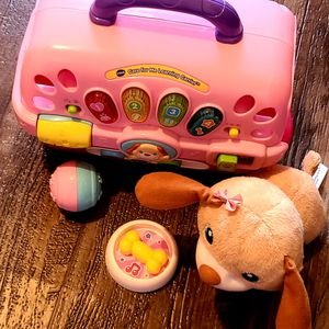 Vtech Learning Puppy And Carrier for Sale in Lakeland, FL