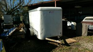 Enclosed White Trailer for Sale in Houston, TX