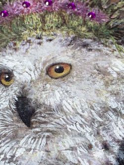 Snowy Owl Wooden Crystal Kit for Sale in La Habra,  CA