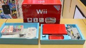 Original Nintendo Wii Super Mario Bros 25th Limited Edition Red Console for Sale in Columbus, OH