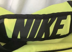 Nike Swoosh Polyester Nylon Neon Duffle Bag for Sale in Hialeah, FL