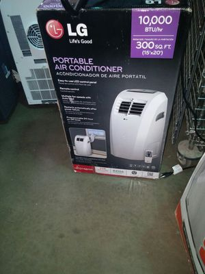 LG 10000 BTU Portable Air Conditioner with remote for Sale in Phoenix, AZ