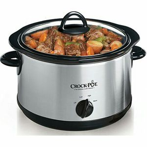 Betty Crocker stainless steel large crock pot slow cooker brand new never used for Sale in Pompano Beach, FL