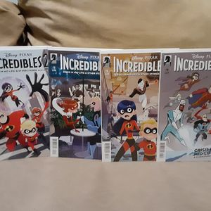 The Incrdibles 2 #1-3 for Sale in Long Beach, CA