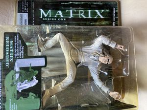 Matrix set of both twins Twin 1 & Twin 2 action figure with custom accessories. for Sale in Cerritos, CA