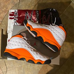 Jordan 13 Starfish Sz11 Deal Of The Day 160$ No Creases Or Stains Still Smell New Worn 1x for Sale in Bedford,  OH