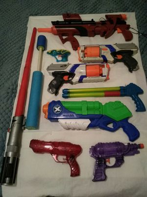 Assorted Nerf and More Toys. for Sale in Fresno, CA