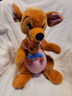 Giant Disney Kanga and Roo plush from winnie the pooh for Sale in Portland, OR