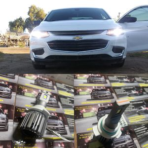 Auto led headlight kits free installation to most cars 1 year warranty with me for Sale in San Bernardino, CA