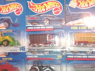 Hotwheels Tractor And Ford Stake Bed Truck Lot Of 6 for Sale in Fort Worth,  TX