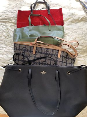 4 Kate spade bags. One w dust bag included . for Sale in Orange, CT