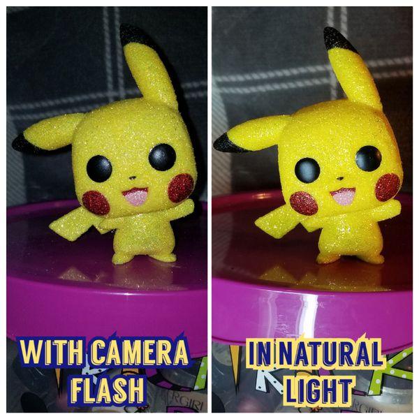 Funko Pop Pikachu Custom Diamond Edition