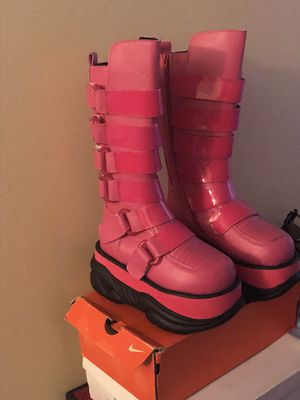 Pink Boots for Sale in Oxon Hill, MD