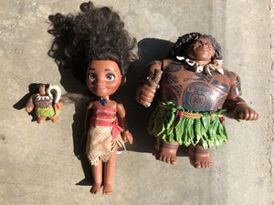 Moana Toys for Sale in Trabuco Canyon, CA